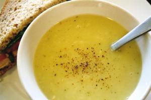 Soy Bean Soup Bistro Style