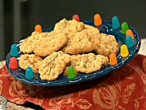 Oatmeal and Gumdrop cookie