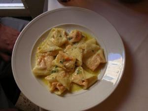 Tortellini with Walnut Pesto