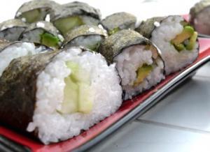 Aishiteru Veggie Sushi!