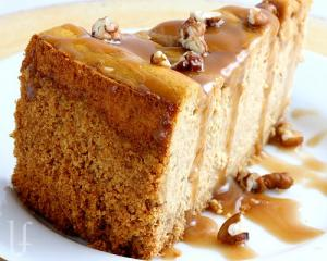 Holiday Pumpkin Cheesecake