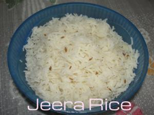 Simple Jeera Rice