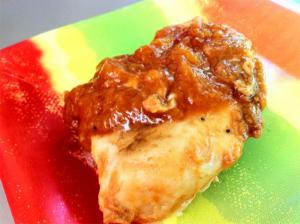 Apple Spiced Chicken Broil