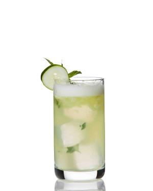 Green Market Cooler Cocktail