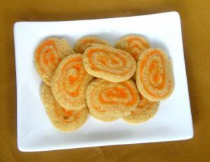 Date Nut Pinwheel Sandwiches