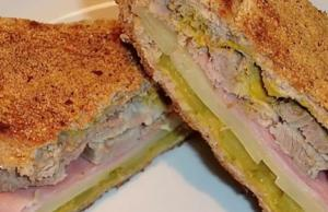 Delicious Cuban Sandwich