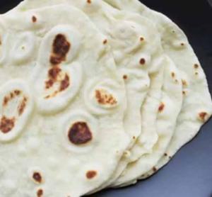 Fresh Homemade Flour Tortillas