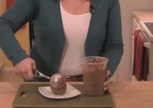 Semisweet Chocolate Brownie Ice Cream