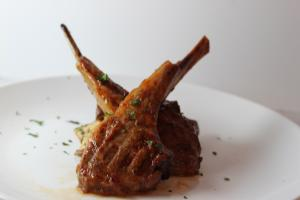 Orange Chipotle Lamb Chops
