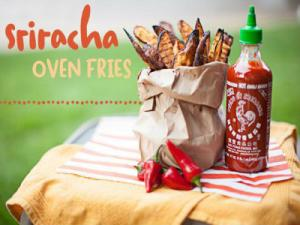 Sriracha Oven Fries : How to Make in 30 Seconds