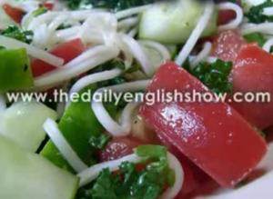 Summer Somen Salad