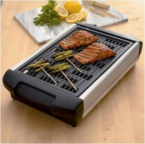 The smoke free Indoor grill