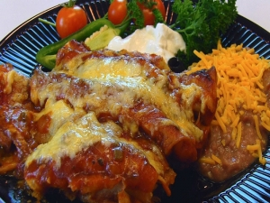 Betty's Shredded Beef Enchiladas