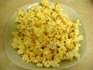 Buttery Szechuan Popcorn