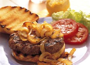 Grilled Hamburger Steaks
