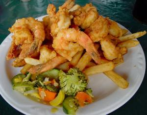 French-Fried Shrimp