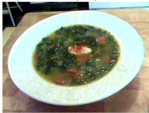 Chorizo And Kale Soup