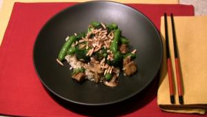 Stir Fried Seitan and Broccoli