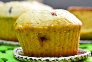 Irish Jam Microwave Muffins