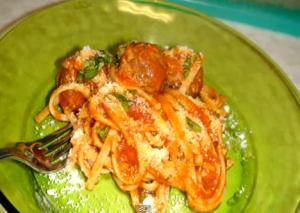 Spaghetti with Veggie Balls