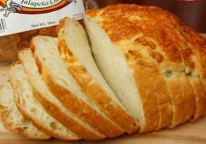 Golden Cheese Bread