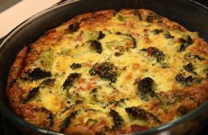 Broccoli Rice Quiche