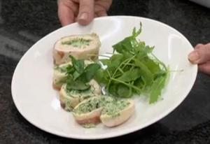 How To Make Watercress Stuffed Chicken Breasts