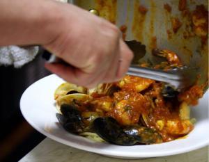 SeaFood Pasta (Pasta con frutte del mare) (Pescatore)