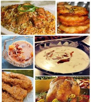 Eid ul fitr recipes
