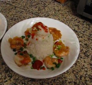 Salt & Pepper Batter Fried Shrimp