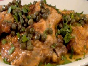 Pork Chops Piccata with Lemon Caper Sauce
