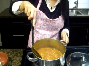 How to Make Soybean Curry - Vegetarian Indian Food