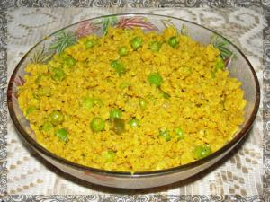 Matar Soya With Adraki Tadka