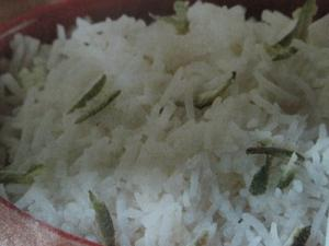 Aromatic Lemon Rice