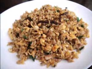 Pacfic Saury Fried Rice
