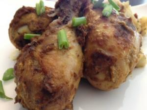 Bhuna Masala Chicken ( Indian Style Chicken Drumsticks)