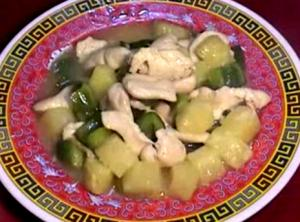 Pineapple Chicken - Stir Fried