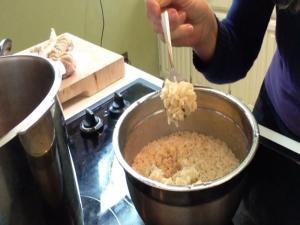Pressure Cook Brown Rice in 10 Minutes