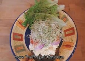 Egg Salad Sandwich with a Twist