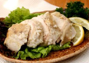 Steamed Breast Of Chicken