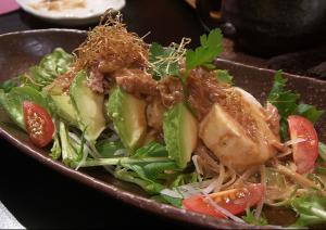 Warm Scallop And Avocado Salad