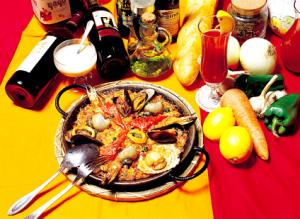 Paella is the most famous Spanish National Food
