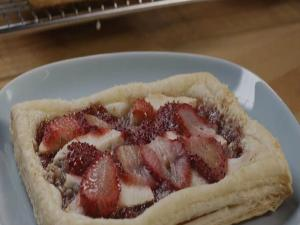 Strawberry and Apple Galettes