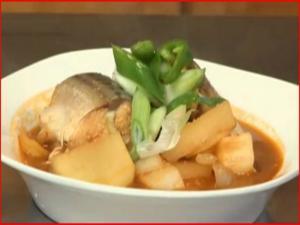 Godeungoh Jorim - Korean Mackerel Stew