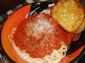 Italian Pasta Sauce with Meatballs