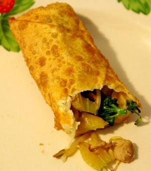 When Egg Roll turned into a Vegetable Roll