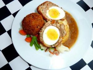 Egg and Sausage Balls
