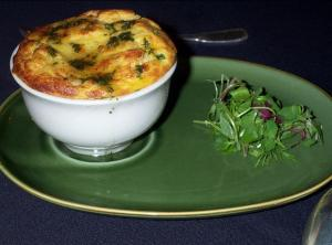 Quick Seafood Souffle