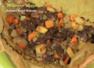 Turkish Sebzeli Kağıt Kebabı