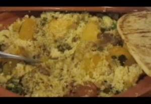 Lamb and Butternut Squash Tagine